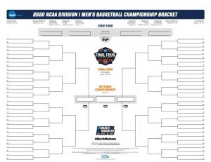 NCAA-2020 Tournament Countdown