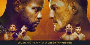 UFC 241: Cormier vs. Miocic 2! Saturday Night.