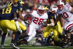College Football - Big 10 Betting Action: Wisconsin vs. Michigan